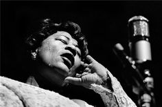 Classic Jazz Photography by the late Herman Leonard: ELLA FITZ. Can you feel the heat!!!
