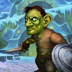 Card Name: Leper Gnome Artist: Glenn Rane