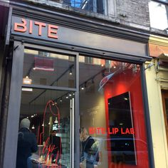 My visit to BITE Beauty Lab in New York for a customized lipstick! http://www.bloggingtheroadnottaken.com/bite-beauty-lip-lab-new-york