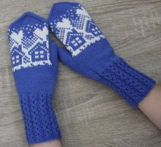 Knit Mittens, Drops Design, Gloves, Socks, Knitting, Tricot, Breien, Sock, Stricken