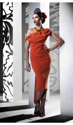 0d68d0c1a5 Orange Sian Dress. Leggs Darlington · Kevan Jon