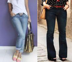jeans - cintura media