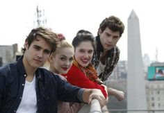Jorge, Mercedes, Lodovica and Diego