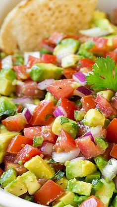Avocado Salsa.