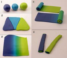 Easy tutorial polymer clay