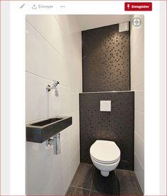 Modern toilet design photos modern toilet design decor units home Small Toilet Room, Guest Toilet, Downstairs Toilet, Toilet Wall, Bathroom Renos, Laundry In Bathroom, Bathroom Interior, Bathroom Ideas, Shower Bathroom