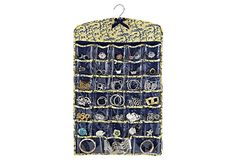 SPRING STORAGE  Jewelry Pocket Organizer, Jardins Jaune  MACBETH    $19.00