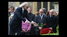 Robin Gibb (Bee Gees) Funeral A Final Farewell (1/2) - I Started A Joke ...