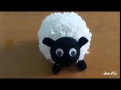 خروف العيد كروشيه   الطريقة موضحة مع الشرح  how to crochet sheep - YouTube