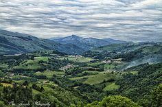 Amanece en Malerreka (Navarra).