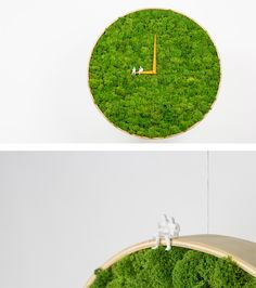 As urbanites get more and more isolated from the natural world, their desire to maintain some sort of connection has inspired creative new interior design ideas like moss walls to fill their needs. Moss walls are a beautiful and relatively low-maintenance Fleur Design, Green Interior Design, Moss Art, Decoration Plante, Diy Crafts To Do, Indoor Garden, Indoor Plants, Garden Landscape Design, Creative Home