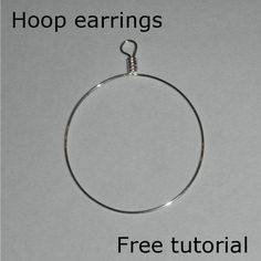 Hoops earrings | JewelryLessons.com