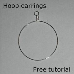 Hoops earrings | JewelryLessons.com