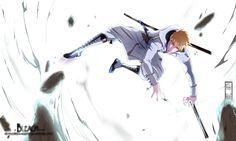 Ichigo - Quincy by IFrAgMenTIx.deviantart.com on @deviantART