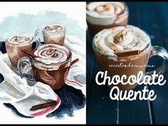 O CHOCOLATE QUENTE MAIS GOSTOSO DO MUNDO - Receitas de Inverno 04 - YouTube