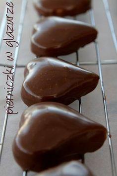 Moje Wypieki   Glazura czekoladowa i lukier do pierniczków