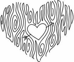 Embroidery Designs at Urban Threads - Woodgrain Heart Embroidery Hearts, Cross Stitch Embroidery, Embroidery Patterns, Hand Embroidery, Machine Embroidery, Zentangle Patterns, Zentangles, Urban Threads, Heart Patterns