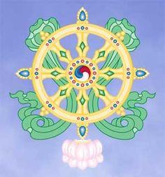What Are the 8 Auspicious Symbols of Buddhism?: The Eight Auspicious Symbols: Dharma Wheel Buddhist Symbols, Buddhist Art, Hindus, Tantra, Roda Do Dharma, Zen Symbol, Dharma Wheel, Vajrayana Buddhism, Mudras