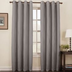 Sun Zero™ Osbourne Grommet-Top Blackout Curtain Panel  found at @JCPenney