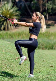 Este exercício poderoso vai trabalhar pernas, bumbum e abdômen