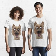 surprised dog face Surprised Dog, Shark, T Shirts For Women, Face, Dogs, Fashion, Moda, Fashion Styles, Pet Dogs