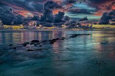 Mauritius in Twilight on Behance