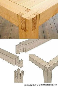Love this joinery!!