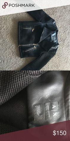 Armani Exchange Moto Jacket NWOT Armani Exchange Jackets & Coats