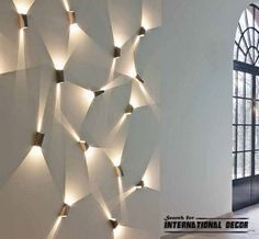 easy decorating ideas for wall with light effect - Google Search