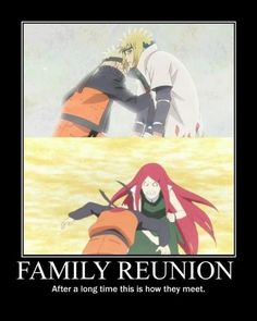 Naruto was going to hug his dad after so long without knowing who he was.It was so happy and so sad. then Naruto hit him. It is kinda justified since Minoto could have chosen to be alive right now. Then Naruto wouldn't have to be alone. Naruto Uzumaki, Anime Naruto, Naruto Comic, Naruto Sasuke Sakura, Naruto Gaiden, Naruto Cute, Boruto, Minato Kushina, Narusaku