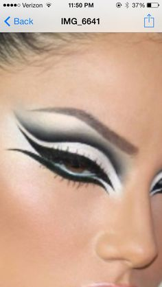 Possible cat woman eye makeup?