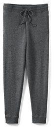 Lands' End Men's Wool Blend Jogger Sleep Pants-Mica Heather