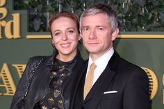 'Sherlock' stars Martin Freeman, Amanda Abbington split after 15 years ---- say it ain't so!!!  I don't like John/Mary but I LOVE Martin & Amanda together!