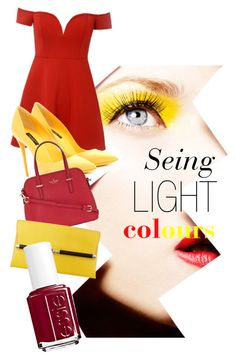 """Seing the colour"" by scorpiusfanye ❤ liked on Polyvore featuring мода, Dolce&Gabbana, Kate Spade, Diane Von Furstenberg и Essie"
