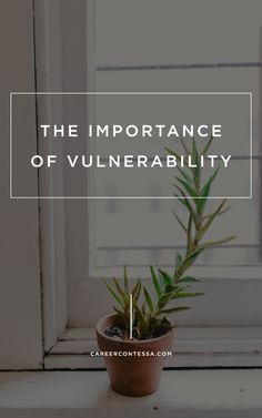 A willingness to be vulnerable may be more important- in work and life- than you think   Career Contessa   By: Lulu Xiao
