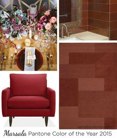 marsala color of the year - Google Search