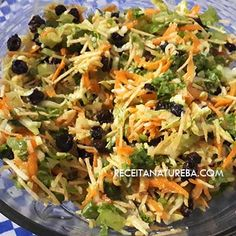 Salad Recipes, Cabbage, Food And Drink, Low Carb, Pasta, Vegetables, Health, Vegetable Salad Recipes, Vegetable Salad