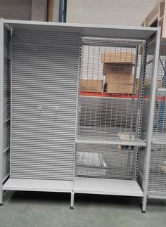 outrigger shelving, with wire grid panel, with aluminum slatwall panel, more items @ Linkup Store Equipment Co., Ltd.