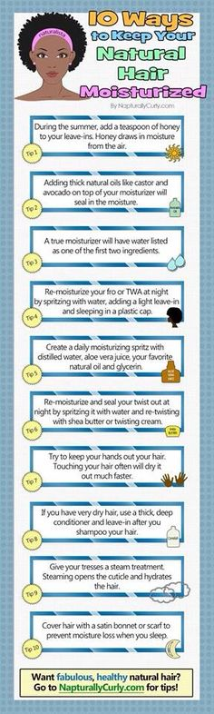 How to Keep Natural Hair Moisturized