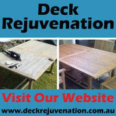 Deck Restoration, Sealing, Sanding,  Cleaning Melbourne Victoria Deck Rejuvenation has been restoring decks across Melbourne Victoria for over 12 years! So rest assured you're in good hands.  .