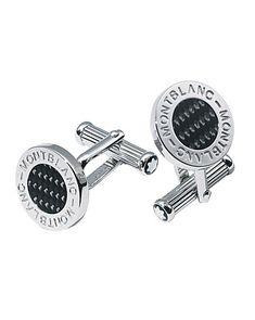 Montblanc Platinum-Plated Cufflinks