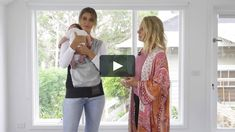 Video Tutorial on how to wear your Baby Dink Baby Carrier safely. Babywearing, Kimono Top, Shower, Gift, How To Wear, Women, Fashion, Rain Shower Heads, Moda