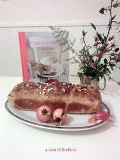 """""""Fragole a merenda"""" a casa di Stefania: e quella è il suo primo """"Pan brioche per tipi pigri""""!  #quifragoleamerenda"""