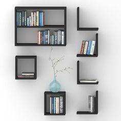Bookshelves Kids, Bookcase, Wooden Pallet Wall, Modern Metal Wall Art, Diy Home Crafts, Wall Shelves, Interior Design Living Room, Bedroom Decor, Home Decor