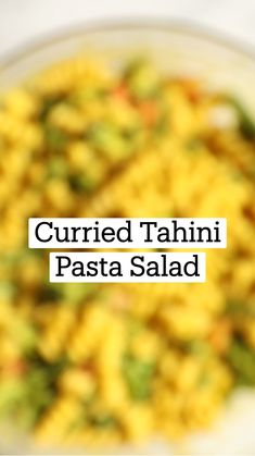 Tahini Pasta, Vegan Pasta, Duck Recipes, Whole Food Recipes, Cooking Recipes, Plant Based Diet, Plant Based Recipes, Lunch Ideas, Meal Ideas