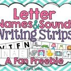 FREEBIE Letter Names & Sounds Writing Strips Sets  Thanks so much for viewing this freebie!  If you have followed me for long you have most lik...