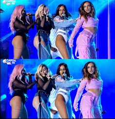 Little Mix performing at Capital's Summertime Ball 2017