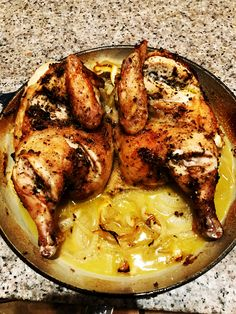 Roasted lemon chicken with home-made couscous, this is one of our favourite recipes and have stood the test of time. The lemon compliments the chicken and the pan juices are amazing with the couscous. Making Couscous, Chicken Couscous, Lemon Chicken, Easy Dinners, Roast, Favorite Recipes, Homemade, Healthy, Food