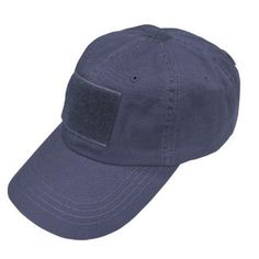 Condor Tactical Cap - NAVY BLUE FRONT Velcro Loop Fastener Size in Inches   Approximately 478b086e961