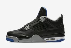 Air Jordan 4 Soar Blue Release Date. This Air Jordan 4 features a Black leather upper, Soar Blue accents and Matte Silver and White detailing releasing 2017